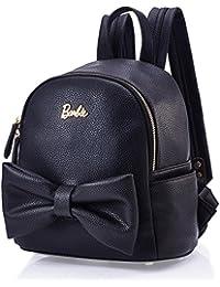 Barbie Bolsos Mujeres Bolso de Vintage Bolso de hombro para mujer Bolso escolar Bolso de Lazo para chicas