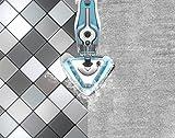 Dirt Devil DD302-0 AquaClean 2 in 1 Dampfmopp und Handdampfreiniger zur hygienischen Reinigung, multifunktionsdampfreiniger, abnehmbarer, 10 verschiedene aufsätze, Steamboost, weiß / blau -