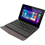 """Unusual 89W con teclado - Tablet de 9"""" (WiFi, 2 GB de RAM, 32 GB almacenamiento interno, Bluetooth 4.0, Intel Atom Z3735F, Windows 8.1 con Bing, teclado incluido) color negro"""