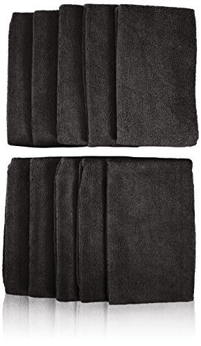 Softees Towels with Duraguard, Gray, 10pk by Fromm International BEAUTY (English Manual)