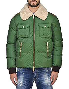 DSQUARED2 Pluffer Green Men's New - Size: 50
