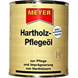 Hartholz Pflegeöl, Teaköl, Holzimprägnierung, Holzschutz, Holzöl, 750 ml Dose, Farbton Natur
