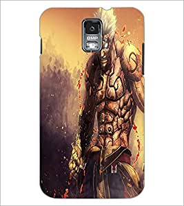 PRINTSWAG ANGRY MONSTER Designer Back Cover Case for SAMSUNG GALXAY S5