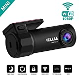 Best Car Camera Wifis - Car Dash Cam, VELLAA Mini Car Camera Built-in Review