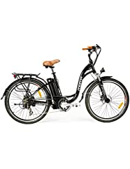 """Vélo électrique de ville SHIMANO, roues de 26"""", Aluminium, Batterie Ion-Lithium 36V 16Ah"""