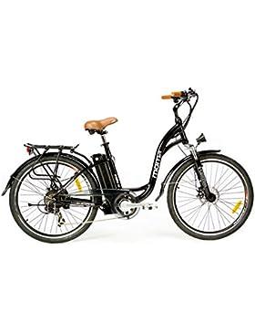 Moma Bikes, Bicicletta Elettrica SHIMANO, ruota da 26
