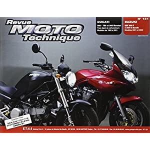Revue moto technique, numéro 121 : Ducati (600 -750 et 900 Monster), Suzuki (GSF 600 F et 600 S Bandit)