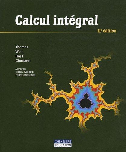 Calcul intégral de George B. Thomas (10 août 2009) Broché