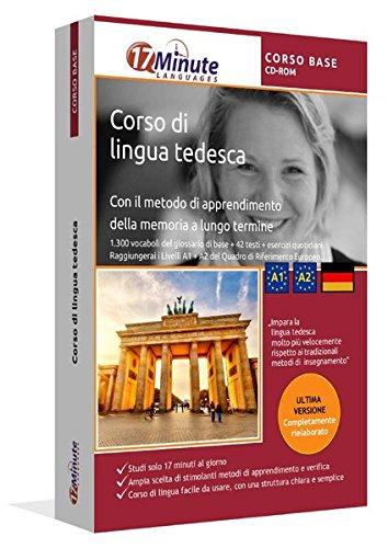 Corso di tedesco per principanti (A1/A2): Software per Windows/Linux/Mac. Imparare la lingua tedesca con il metodo della memoria a lungo termine
