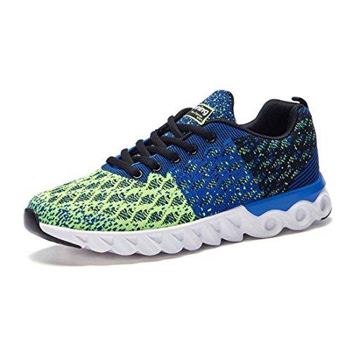 Men's Zapatillas Deporte Mesh Lightweight High Quality Running Shoes Borland