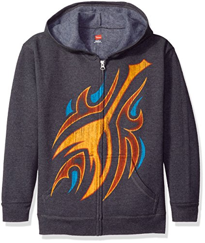 hanes-sudadera-con-capucha-para-nio-gris-flames-slate-heather-medium