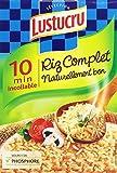 Lustucru Riz Complet 10 Min Incollable 450 g