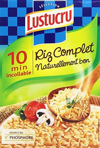 Lustucru Riz Complet 10Mn - Lot de 6