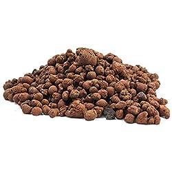 100L Blähton 8-16mm • Hochwertiges Hydrokultur Ton-Granulat Rund & Grob • Perfekt für Topfpflanzen ALS Pflanzton & Dachbegrünungen oder ALS Baustoff