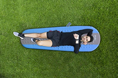 51yL2RnJjVL - iNeibo Self Inflating Sleeping Mat Camping Mat Sleeping Pad Compact Lightweight Camp Mat Inflatable Roll Up Foam Bed Tent Pads for Winter Camping Mummy Sleeping Bag