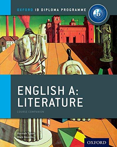 Oxford IB Diploma Programme: Ib course book: english literature. Per le Scuole superiori. Con espansione online por Hannah Tyson