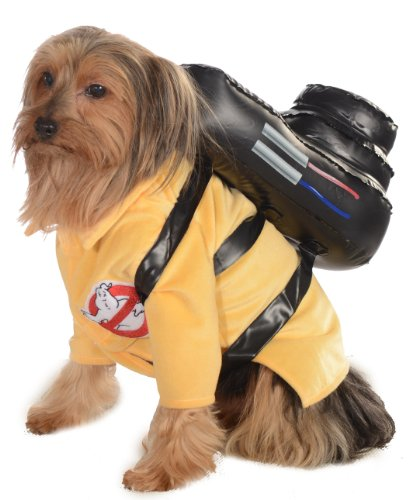 Rubie's Ghostubsters Jumpsuit Pet Costume-Extra (Kostüm Hund Ghostbuster)