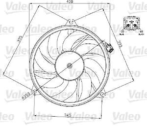 Valeo 696071 Ventilateur, refroidissement du moteur