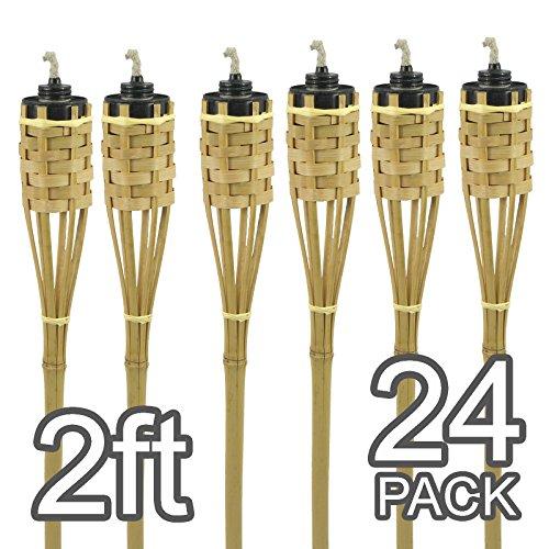 mini-2natural-hecho-a-mano-de-bamb-antorchas-beige-pack-de-24