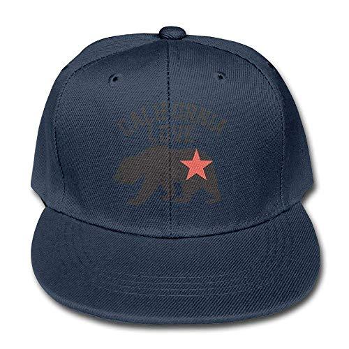 Kaixin J Funny Baseball Caps Hats Children California Love Bear Unisex Plain Snapback Baseball Hat Adjustable One Size Goorin Kids Hat