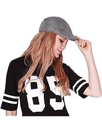 Unisexe Cap Respirant et Confortable Béret Chapeaux Flat cap