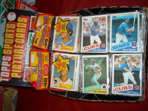 1985Topps Baseball ungeöffneter Rack Pack (48Karten). Look für die Mark McGwire, Roger Clemens, Kirby Puckett Rookie Karten von - Baseball-karten Topps