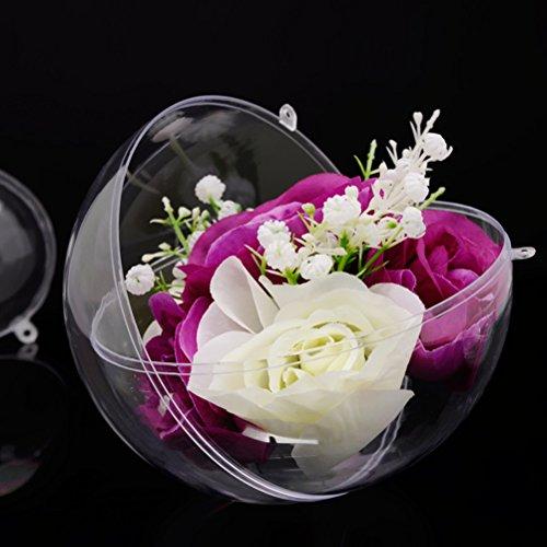Wei/ß und Blau TOYMYTOY DIY Party Hochzeit Guburtstag festliche Deko-Set Papier PomPoms Papierblumen Laternen Girlande