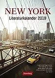New York - Literaturkalender 2019 - Harenberg-Verlag - Wochenkalendarium - 53 Blatt mit Texten und faszinierenden Bildern - Wandkalender - 25 cm x 35,5 cm