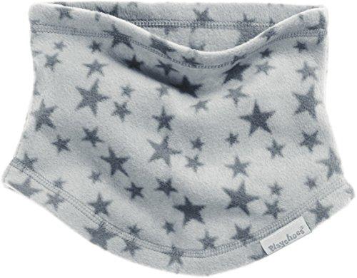 Playshoes Schlauchschal aus Fleece Sterne softer Rundschal geeignet für kalte Tage, grau, one size