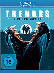 Tremors 1-4 [Blu-ray] [Import anglais]