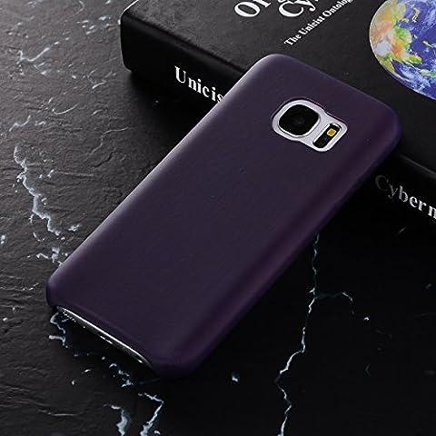 MOONCASE Thermal Hülle Galaxy S7 Edge, Farbwechsel Thermo Hitze Induktion Stoßfest Schutzhülle Ultra Slim Flexibel Armor Defender Case Cover für Samsung Galaxy S7 Edge 5.5