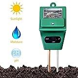 Naitik Creation Soil Testers 3-in-1 Water Moisture Hydroponic Solar Care Plants Soil Sensor