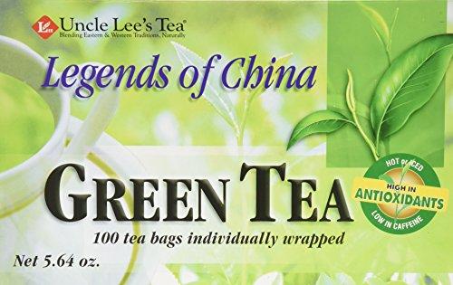 Uncle Lee Tee, Legends of China, Grüner Tee, 100 Teebeutel, 5,64 Unzen -