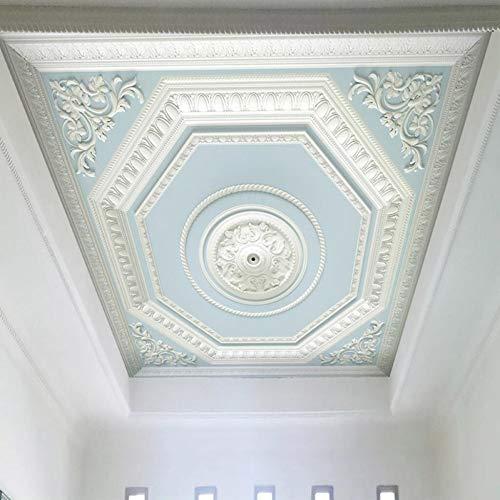 YunYiBZ Benutzerdefinierte Jede Größe Decke Wandbild Tapete Muster Relief Gips Zenith Wandmalerei Wohnzimmer Schlafzimmer Wohnkultur,300cm(W) x210cm(H) -