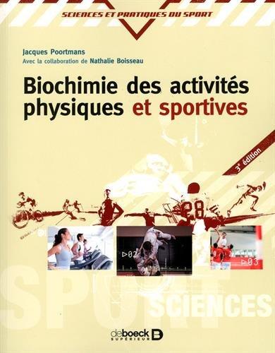 Biochimie des activits physiques et sportives
