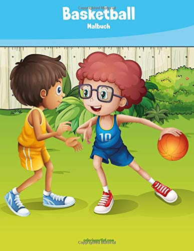 Basketball-Malbuch 1: Volume 1 por Nick Snels