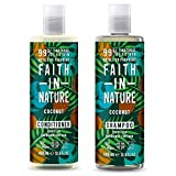 Faith In Nature Cocco Shampoo 400ml & Balsamo 400ml Duo