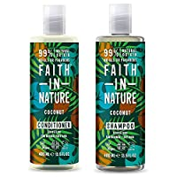 Faith In Nature Coconut Shampoo 400ml & Conditioner 400ml Duo 15