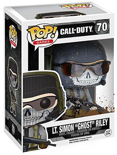 Funko Pop! Call of Duty – Lt. Sim 'Ghost' Riley