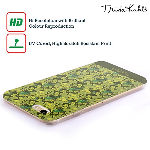 Offizielle Frida Kahlo Monkey Tropisch Soft Gel Hülle für Apple iPhone 5 / 5s / SE Vögel Muster