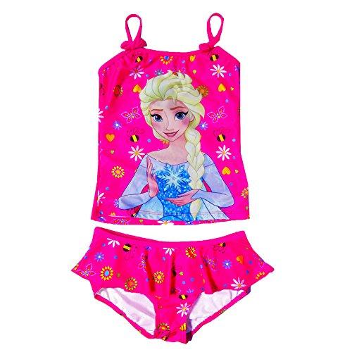 officiel-filles-disney-frozen-maillot-de-bain-elsa-imprime-2-pieces-set-de-bain-disney-frozen-age-5-