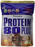 Weider, 80 Plus Protein, Schoko, 1er Pack (1x 500g) medium image