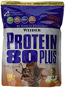 Weider, 80 Plus Protein, Schoko, 1er Pack (1x 500g)