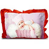 Sleep Nature's Baby Pillow For Kids Soft Baby Pillow Rectangle Shape Soft Toys Cartoon Printed Red Colour Pillow Pillow Size 14x20 Inches 140