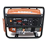 Daewoo GD1200 - Generador eléctrico a gasolina de 98 cc,1000 W, 230 V