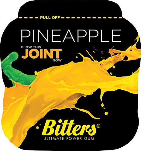 bitters-energy-chewing-gum-with-caffeine-and-taurine-box-of-5-units-of-1-pack-pineapple-bitters-gomm