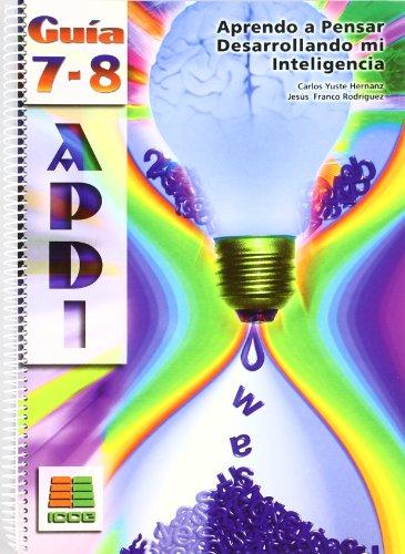 APDI 7-8, ESO. Guía del profesor