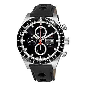 Tissot Hommes T0446142605100 T-Sport PRS516 Montre automatique à cadran noir Jour Date