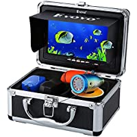 Eyoyo - Cámara subacuática para Pesca, visión Nocturna, Visor de pez, cámara subacuática, Accesorios, Monitor LCD de 7 Pulgadas / 1000TVL móvil (Cable de 50 m)
