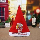 Clode Baby Mütze Kids & Adult & LED Weihnachtsmütze Weihnachtsmann Rentier Schneemann Weihnachtsgeschenke Cap (B)